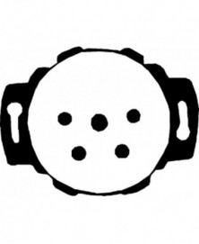 Telefoon wcd inb 4-polig compl m afdekp