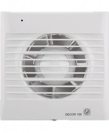 S+p wc-ventilator decor 100crz 95m3/h