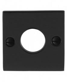 GPF Rozet vierkant 52x52x4mm links/ rechts smeedijzer