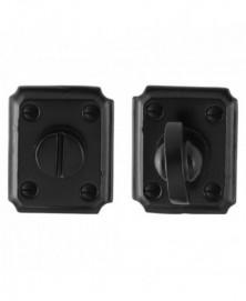 GPF Toiletgarnituur rechthoekig 59x48x6mm stift 8mm smeedijzer