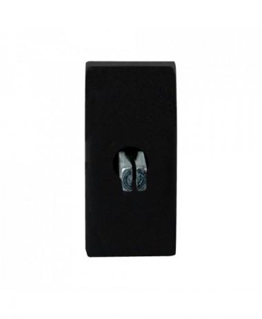 GPF Draaikiepmechanisme rechthoek 65x30x12mm zwart