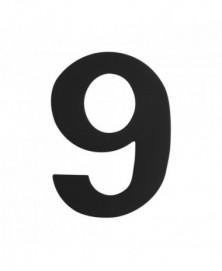 GPF Huisnummer 9/ 150mm zwart
