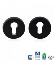GPF Ronde veiligheidsrozet 55x10mm SKG*** zwart