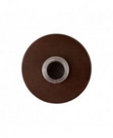 Mandelli Beldrukker rond 50x10mm Antiekbrons
