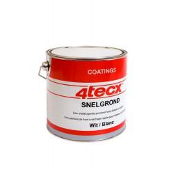 4Tecx Grondverf Snel Wit 2,5L