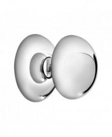 Mandelli Voordeurknop 65mm draaibaar Chrome