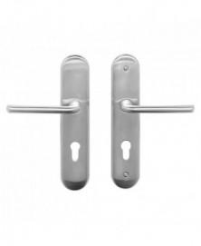 Mandelli Veiligheidsgarnituur D compleet SKG*** met kruk/ kruk PC72 Satinchrome