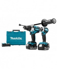 Makita accumachine set dlx2174tx1 18v 2x5ah