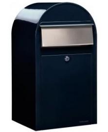Bobi Grande RAL 5004 zwartblauw + RVS klep