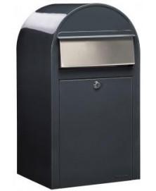 Bobi Grande RAL 7016 donkergrijs + RVS klep