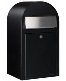 Bobi Grande RAL 9005 zwart struktuur + RVS klep