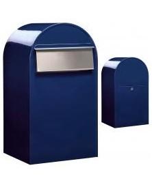 Bobi Grande B RAL 5003 donkerblauw + RVS klep