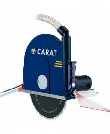 Carat muurzaagmachine w-3511 laser dustec
