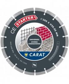 Carat diamantzaag universeel ø400x25,40mm, ce starter