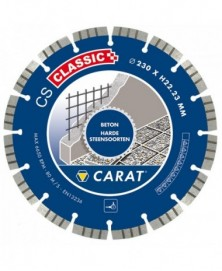 Carat diamantzaag beton ø230x22,23mm, cs classic