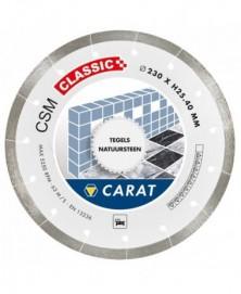 Carat diamantzaag tegels ø250x25,40mm, csm classic