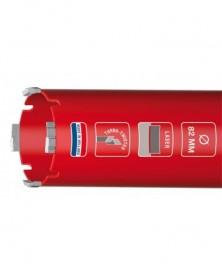 Carat dustec laser droogboor ø62x340xm16