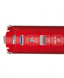 Carat dustec laser droogboor ø72x340xm16