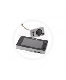 Digitale deurcamera DDV 2.1met bewegingssensor en belfunctie inclusief 128MB SD card