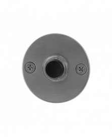 GPF Beldrukker rond 50x2mm met zwarte button