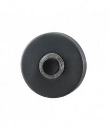 GPF Beldrukker rond 50x8mm met zwarte button