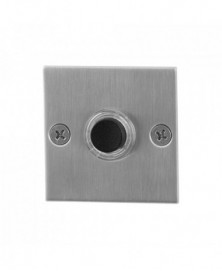 GPF Beldrukker vierkant 50x50x2mm met zwarte button