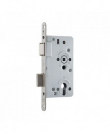 GPF Dag + Nacht slot PC72 RVS U voorplaat 235x20mm Doornmaat 60mm DIN LS/RS DIN