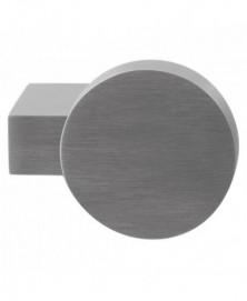 GPF Massief kort verkropte knop rond 69/ 52x13mm tbv VH-schilden vast incl. bout M10