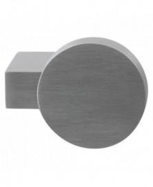 GPF Massief kort verkropte knop rond 69/ 52x13mm tbv VH-schilden vast incl. wisselstift