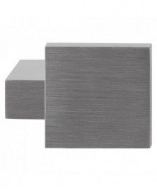 GPF Massief kort verkropte knop vierkant 69/ 48x48x13mm tbv VH-schilden vast incl. bout M10
