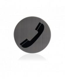 GPF Pictogram Telefoon rond 75mm zelfklevend