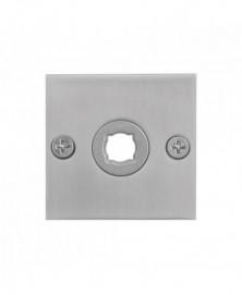 GPF Vierkante platte rozet 50x50x2mm