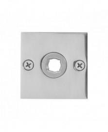 GPF Vierkante platte rozet 50x50x2mm links/ rechts