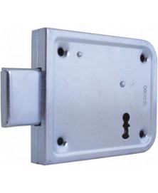 Mauer 2004 BB 60 mm 2sl. Ls/Rs oplegslot-verzinkt-compleet