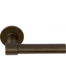 Formani One PBL20XL/50 Deurkruk op rozet brons - dubbel geveerd