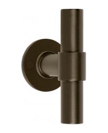 Formani One PBT20/50 Deurkruk op rozet brons - dubbel geveerd