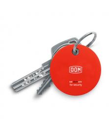 DOM Chipolo sleutelvinder - rood