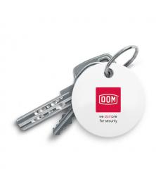 DOM Chipolo sleutelvinder - wit