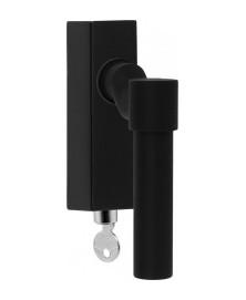 Formani ONE PBL20F-DKLOCK draaikiepgarnituur verkropt - mat zwart - afsluitbaar