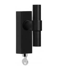 Formani ONE PBT20-DKLOCK draaikiepgarnituur mat zwart - afsluitbaar