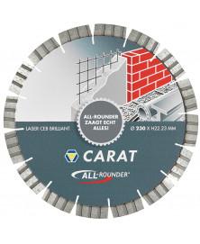Carat Diamantzaag  Allrounder-Br 125X22 Dry