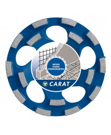 Carat slijpkop beton ø180x22,23 mm dustec®, cubd master