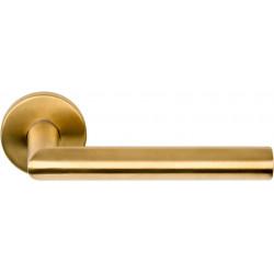 Formani BASICS LBII-19 deurkruk op rozet EN1906 PVD mat goud