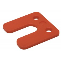 GB Drukplaat 34745 5mm rood...