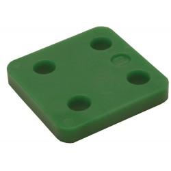 Drukplaat 34710 10mm Groen Zonder Sleuf 48 Stuks