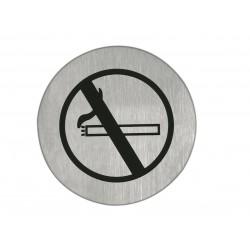 Artitec pictogram RVS 75MM niet roken