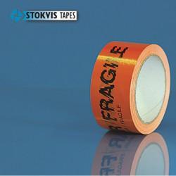 Verpakkingstape 010100 50mm x 66M Pvc Oranje