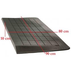 Drempelhulp 10 cm zwart 800...