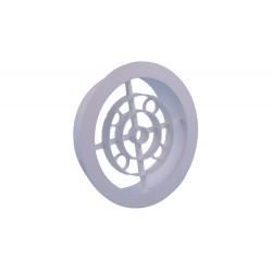 Nedco Ventilatierooster 120mm Pvc Wit