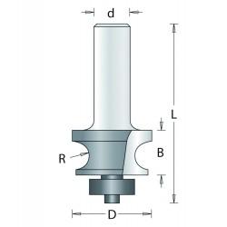 Kraalpr Frees 160-8 R3,2mm...